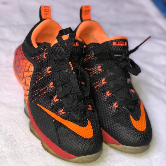 release date: e27f4 b0889 Nike Lebron 12 XII low GS boys